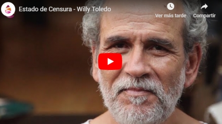 (Video) La censura a Willy Toledo
